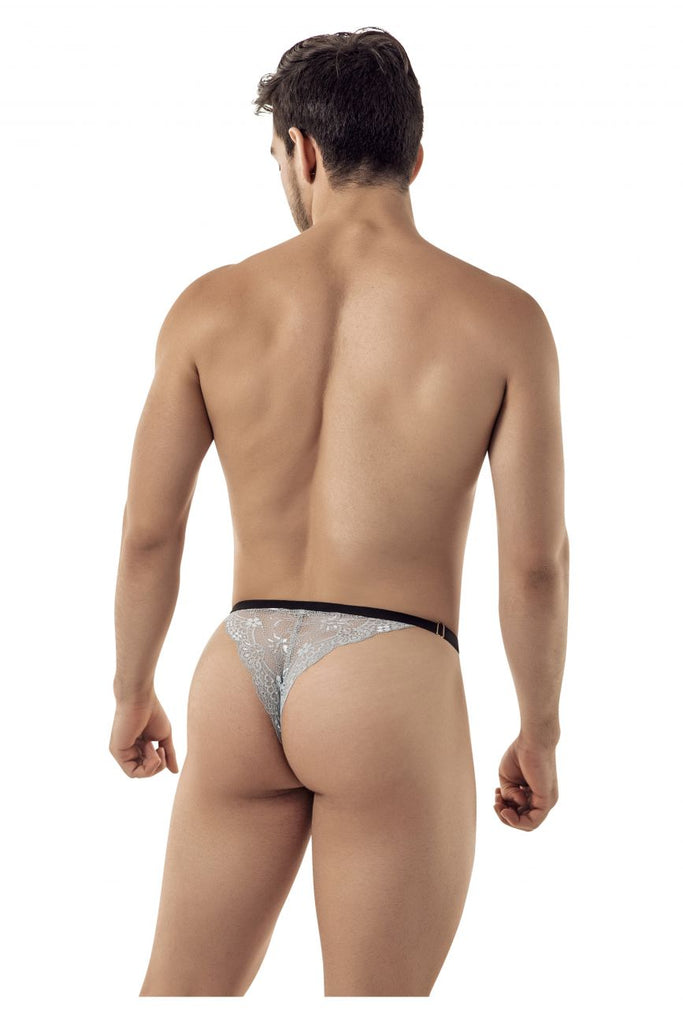 CandyMan 99422 Lace Thongs Color Gray