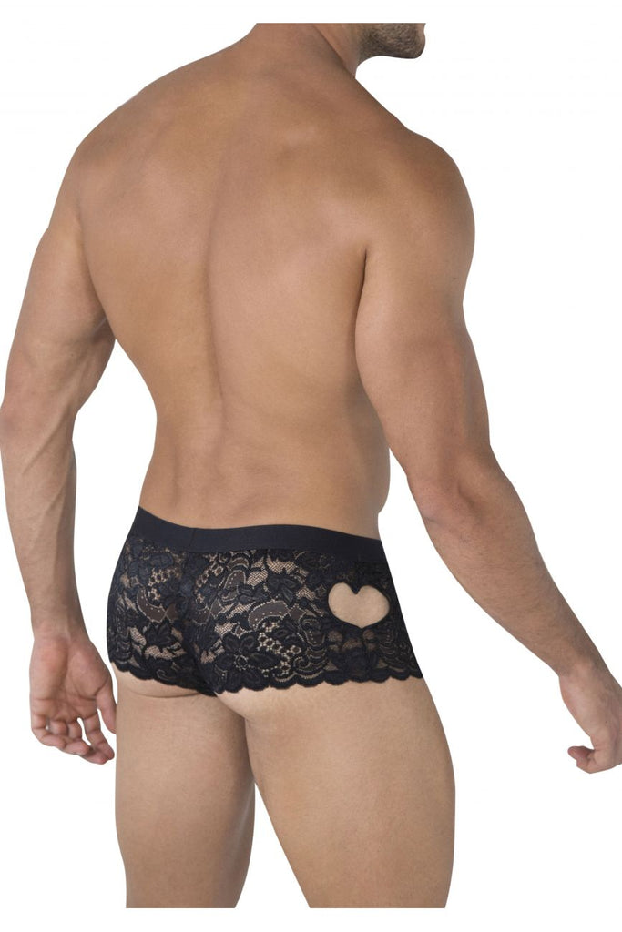 CandyMan 99491 Heart Lace Trunks Color Black