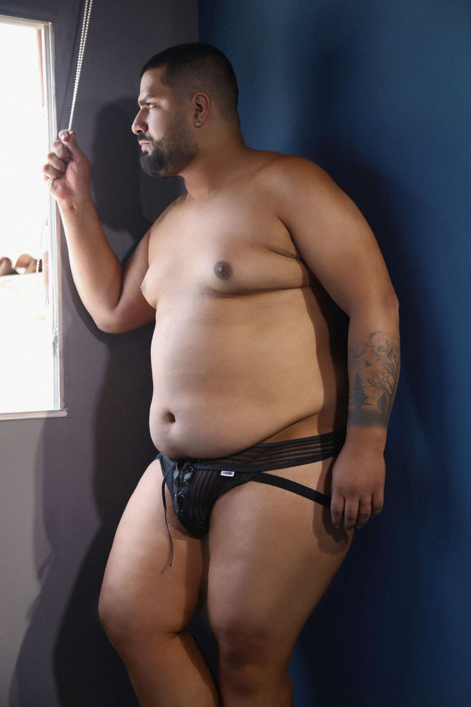 CandyMan 99493X G-String Jockstrap Color Black