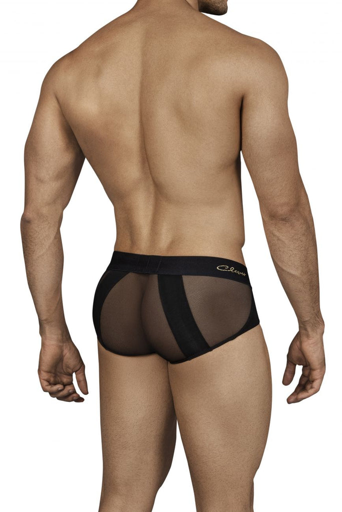 Clever 0138 Calm Piping Briefs Color Black
