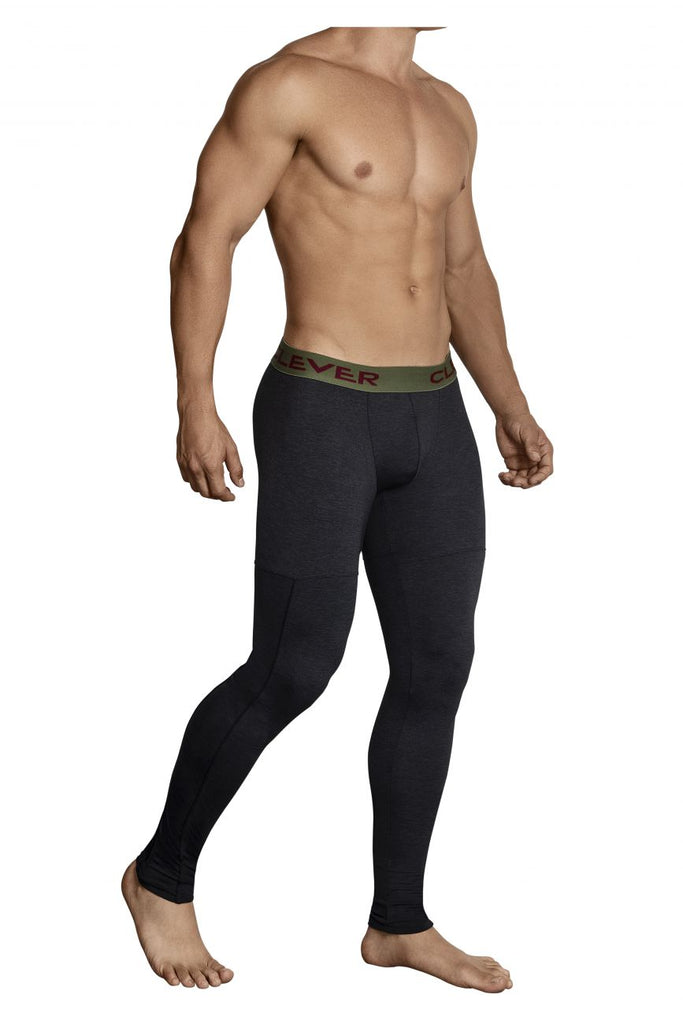 Clever 0314 Gordiano Athletic Pants Color Black