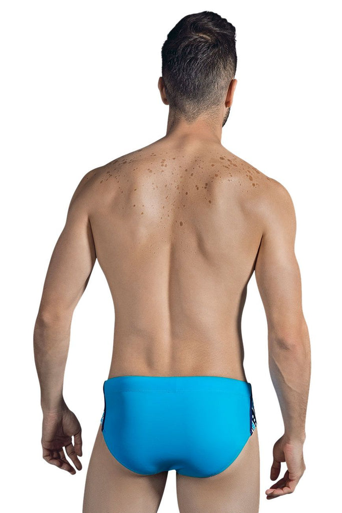 Clever 0622 Ocean Swim Briefs Color Blue