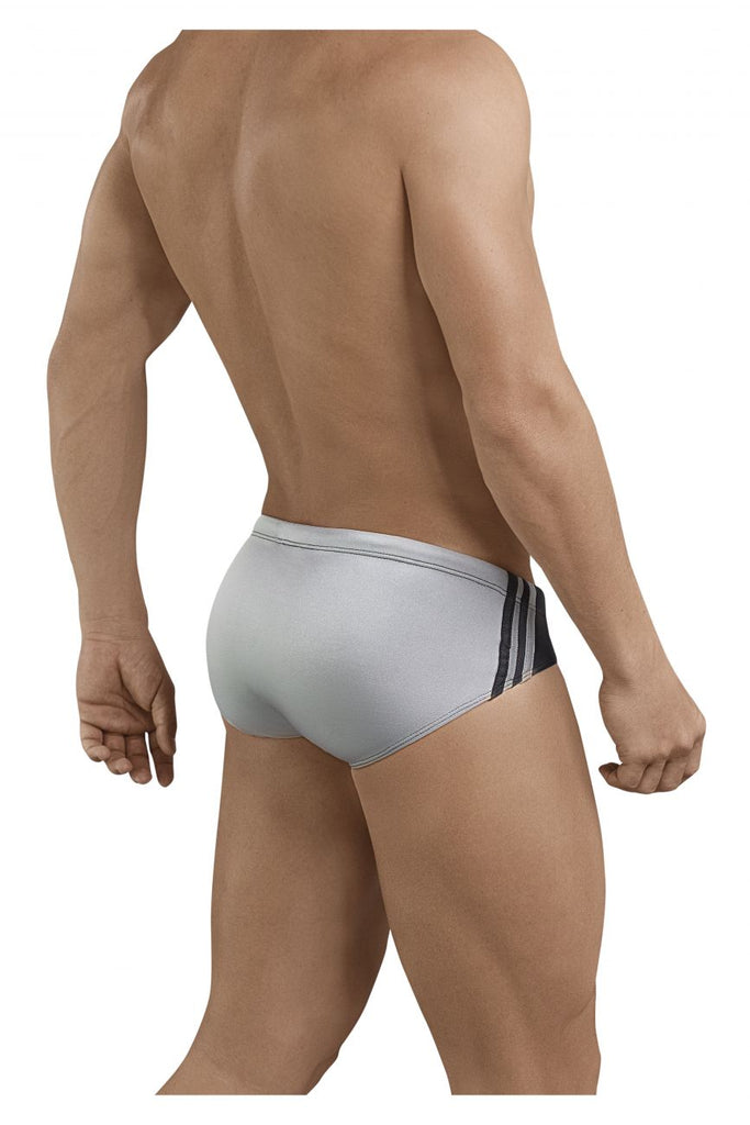 Clever 0680 Big Thing Swim Briefs Color Silver