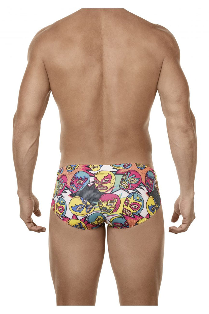 Clever 0686 Attractive Swim Briefs Color Yellow