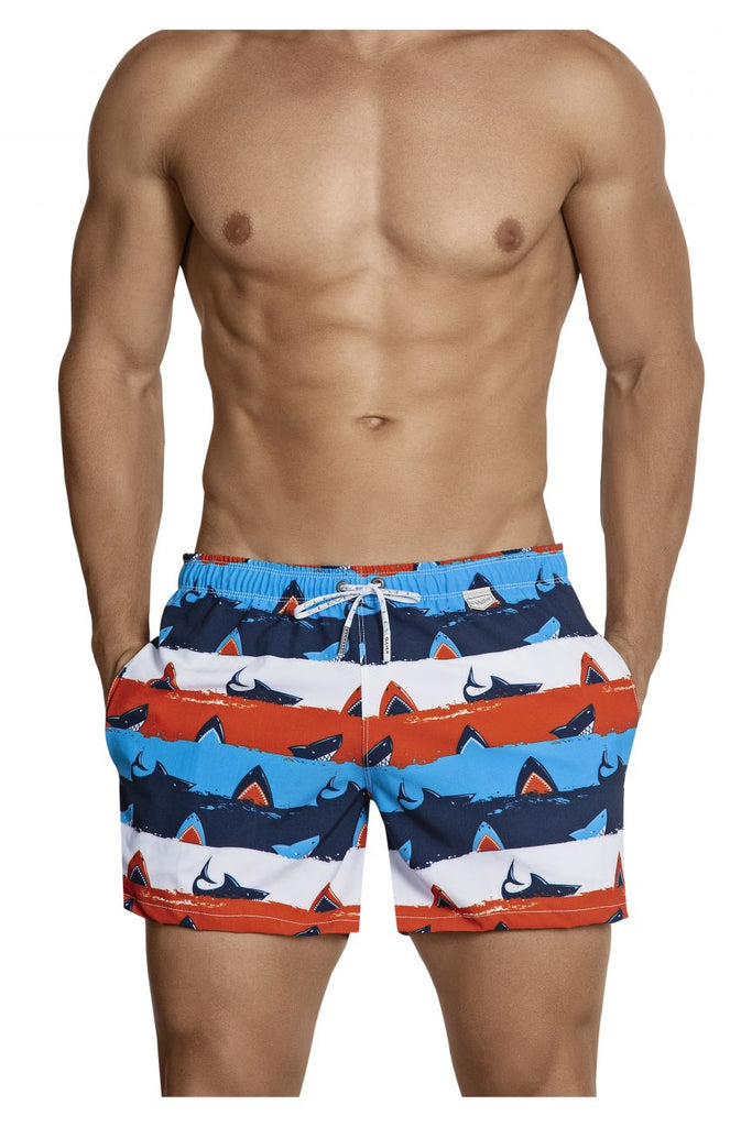 Clever 0698 Macrino Swim Trunks Color Red