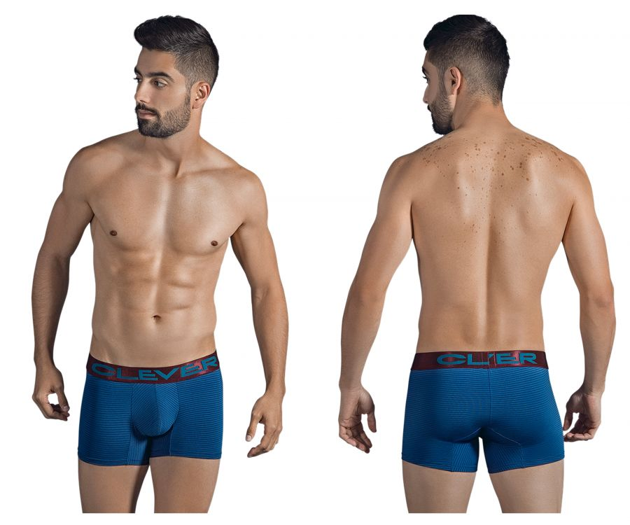 Clever 2298 Stingray Boxer Briefs Color Blue
