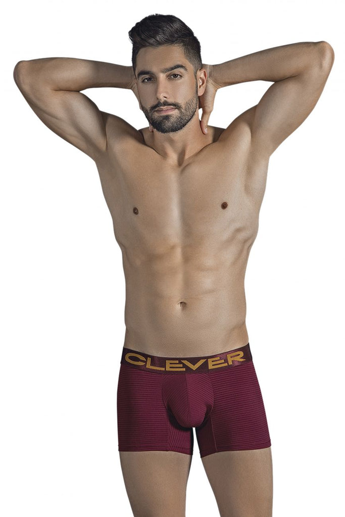 Clever 2298 Stingray Boxer Briefs Color Grape