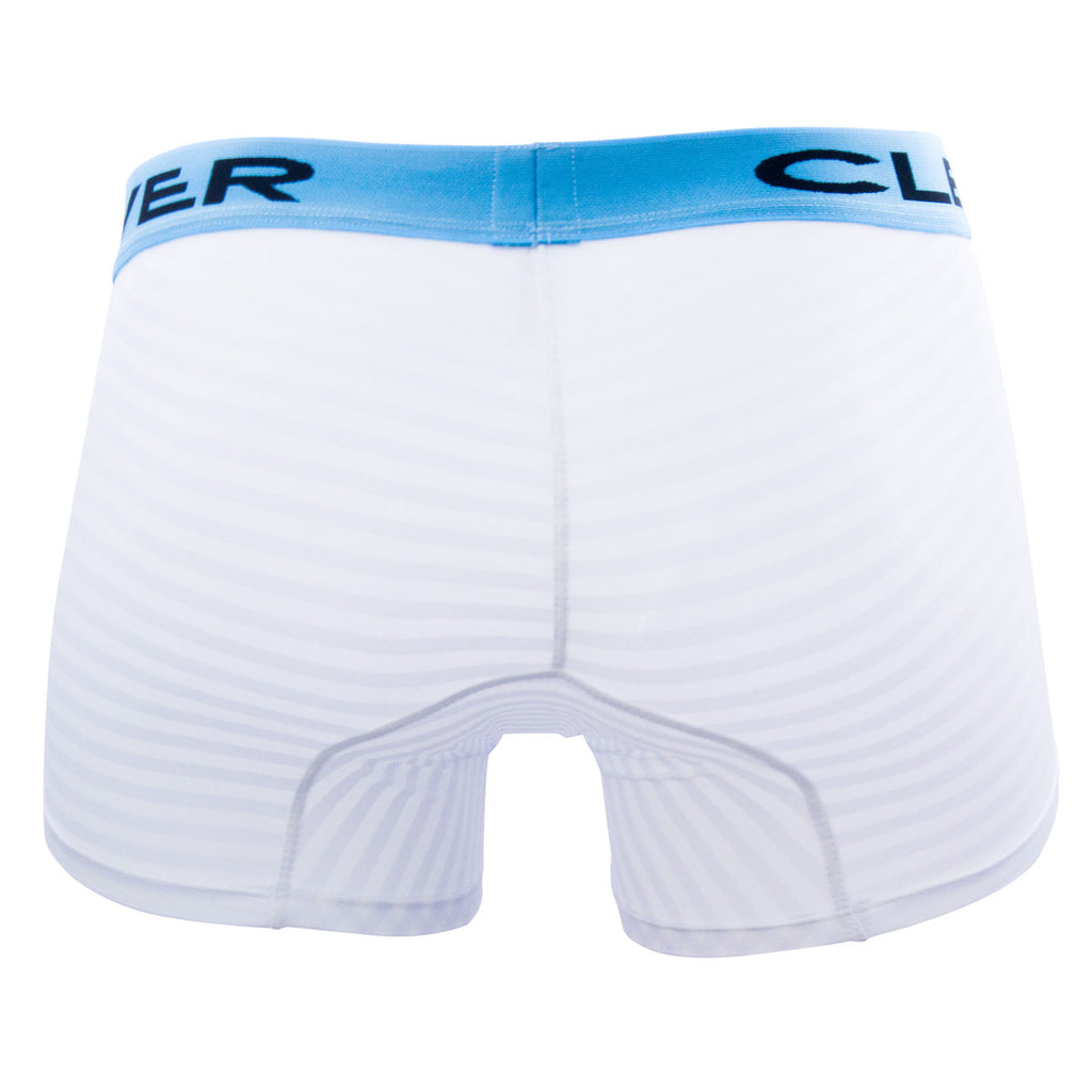 Clever 2299 Zebra Boxer Briefs Color White