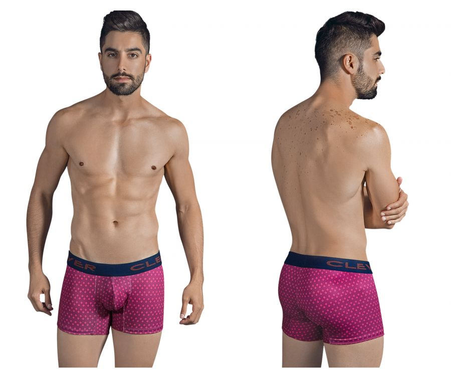 Clever 2308 Screw Boxer Briefs Color Grape
