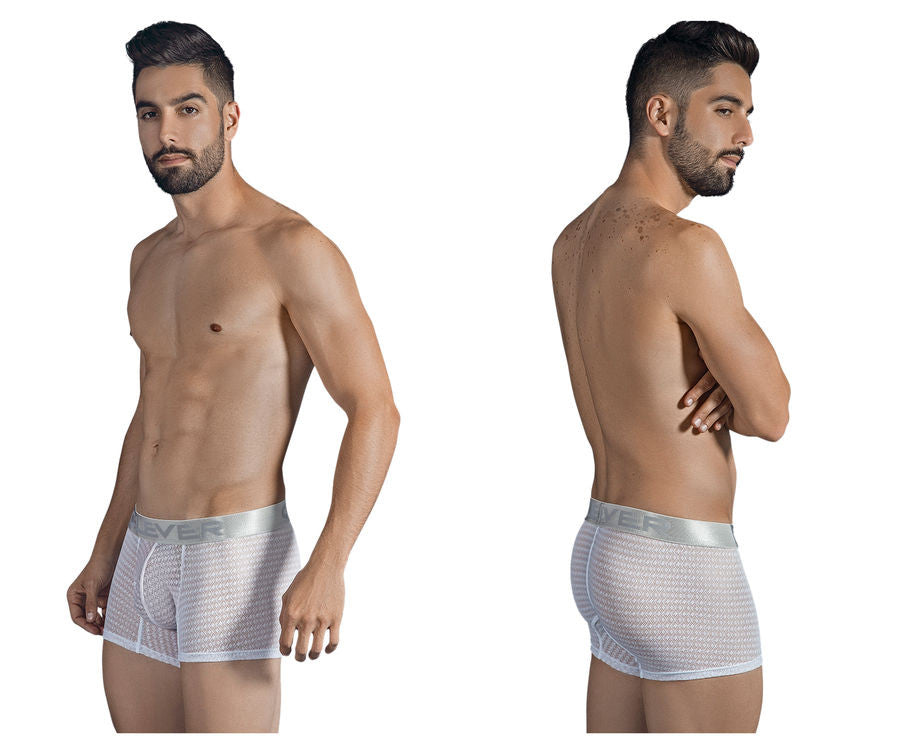 Clever 2309 Romeo Boxer Briefs-White-XL