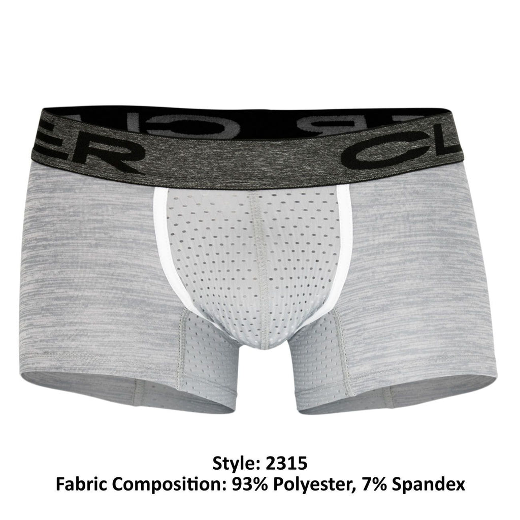 Clever 2315 Mottled Boxer Briefs Color Gray