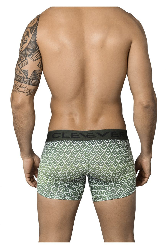 Clever 2346 Mask Boxer Briefs Color Green