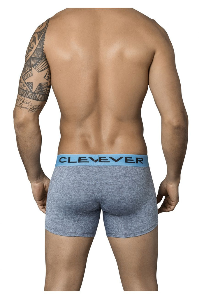 Clever 2349 Modern Boxer Briefs Color Gray