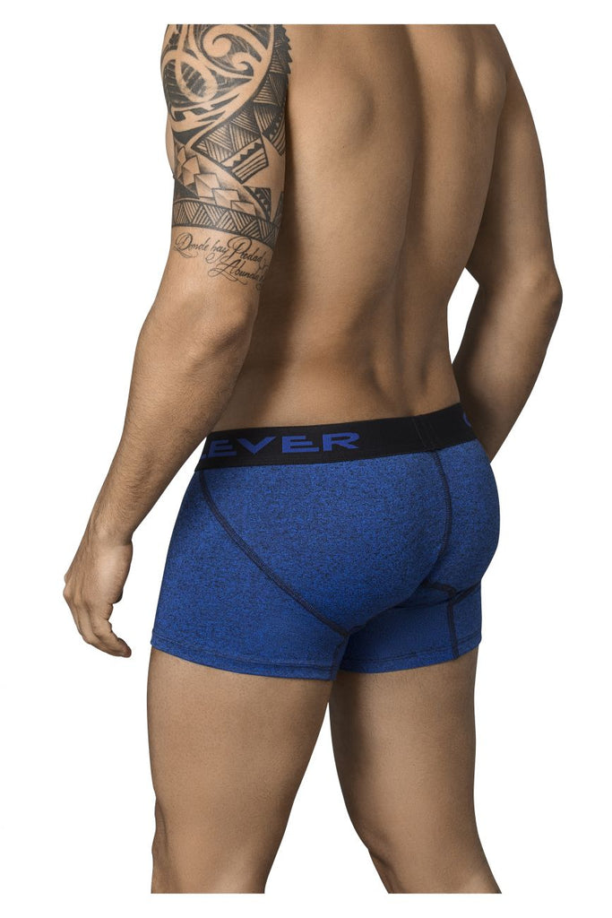 Clever 2351 Eccentric Boxer Briefs Color Blue