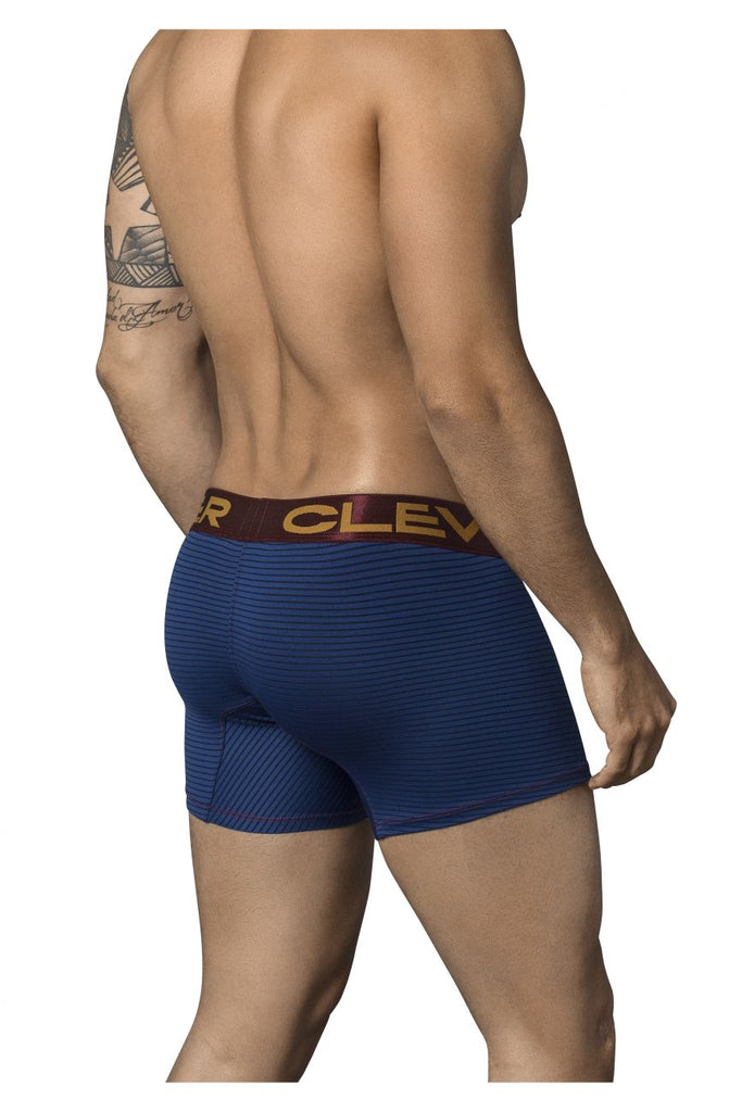 Clever 2355 Figaro Boxer Briefs Color Blue
