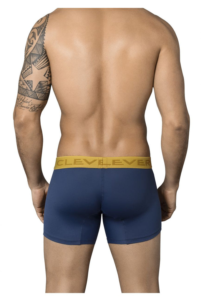 Clever 2358 Exclusive Boxer Briefs Color Blue