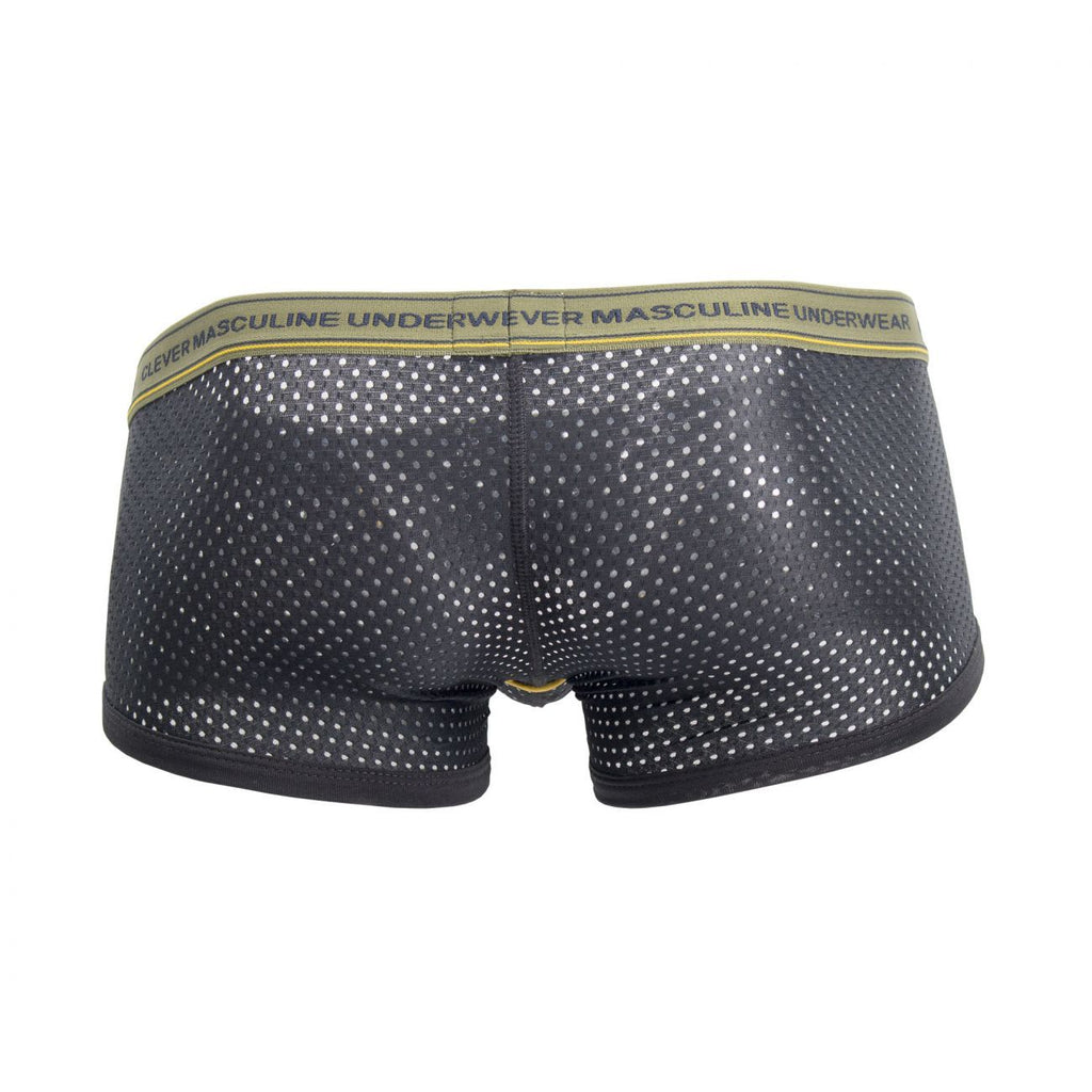 Clever 2381 Cattleya Piping Boxer Briefs Color Black