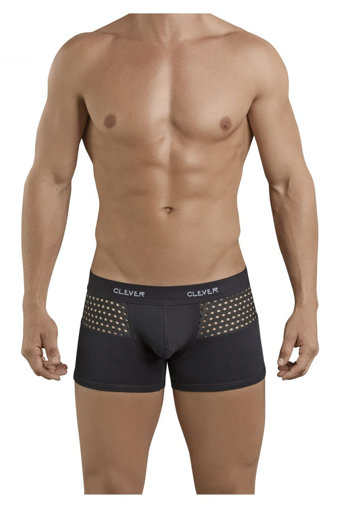 Clever 2386 Glamour Latin Boxer Briefs Color Black