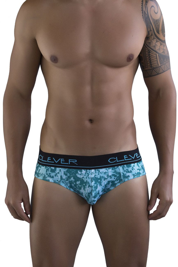 Clever 5099 Limited Edition Briefs Color Green-36