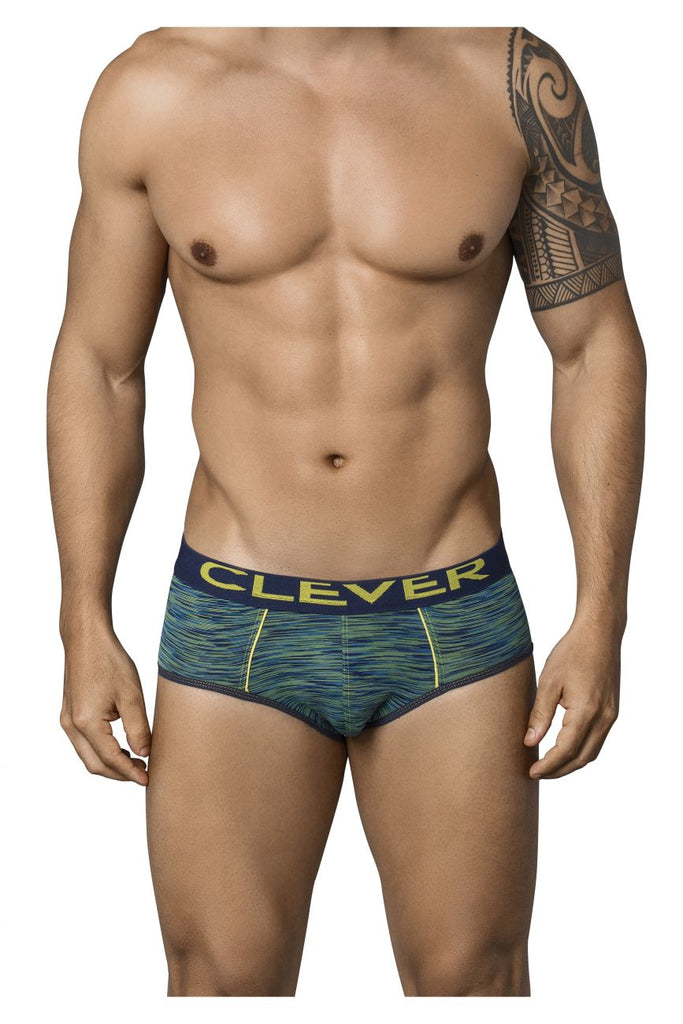 Clever 5199 Opera Piping Briefs Color Green