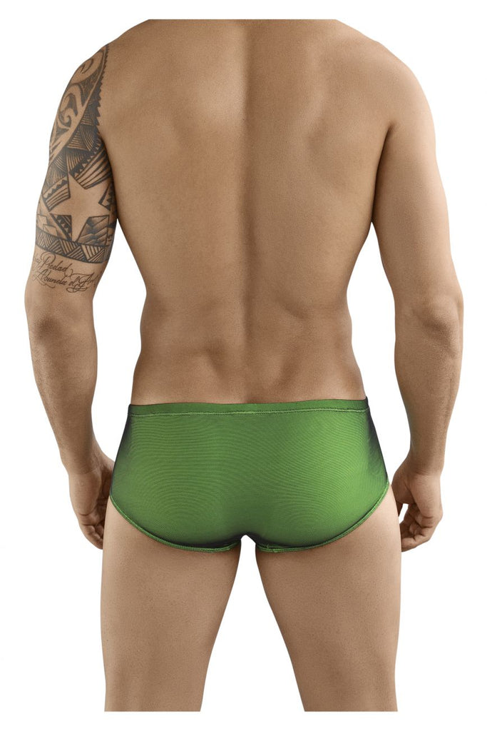 Clever 5216 Instinct Latin Boxer Briefs Color Green