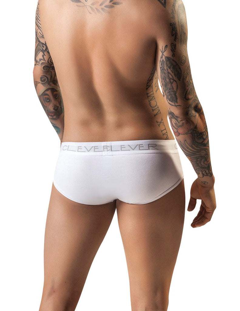 Clever 5219 Classic Brief Color White