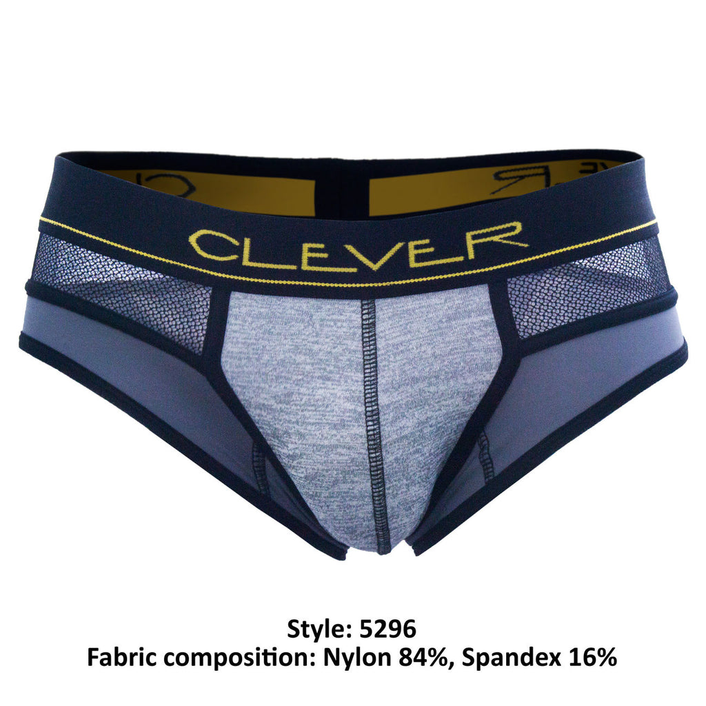 Clever 5296 Honeycomb Briefs Color Gray