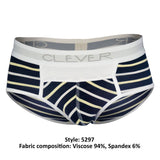 Clever 5297 Wine Briefs Color Blue