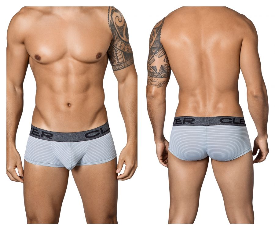 Clever 5338 Bohemian Cheeky Briefs Color Gray