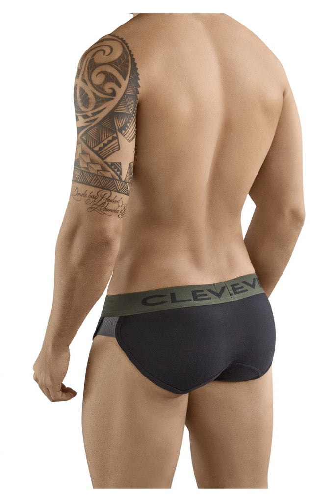 Clever 5360 Pleasure Briefs Color Black