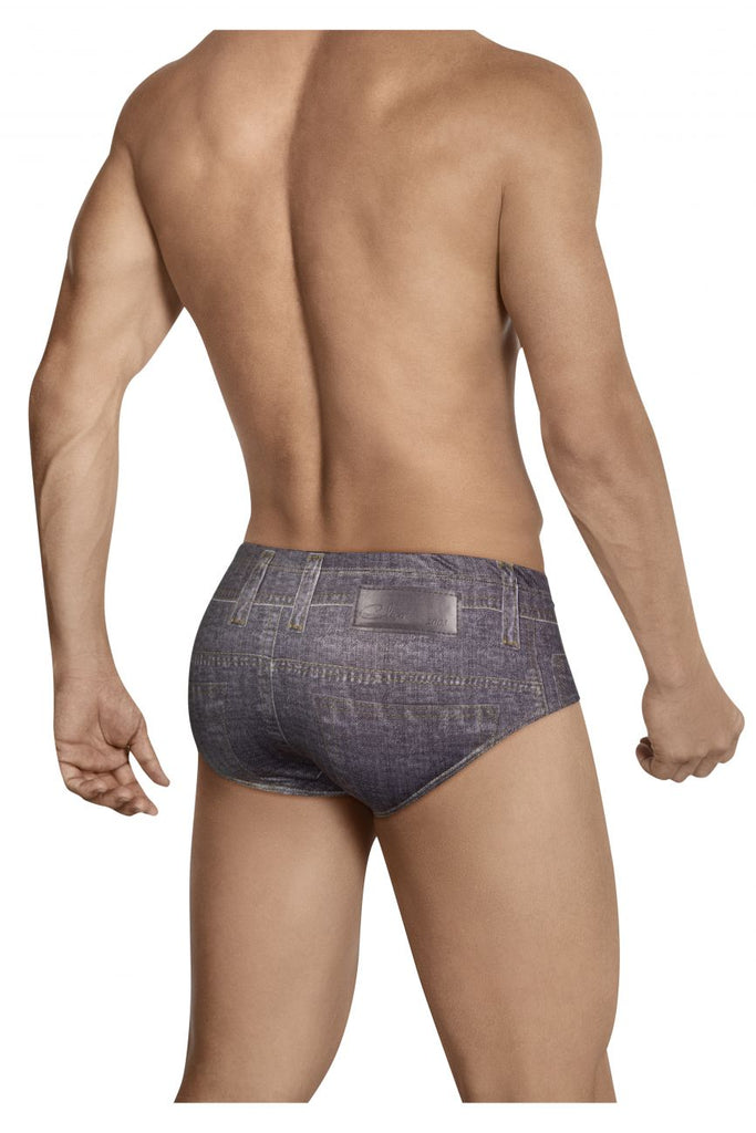 Clever 5423 Texan Jean Latin Briefs Color Gray