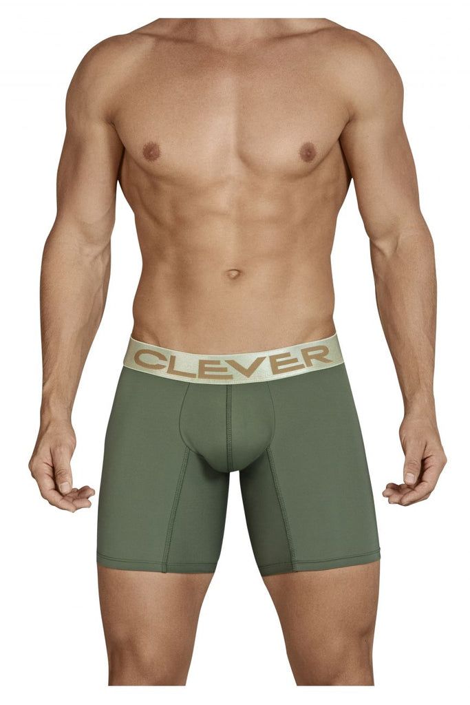Clever 9174 Kumpanias Boxer Briefs Color Green