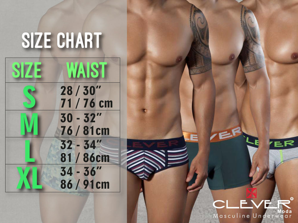 Clever 5443 Boias Briefs Color Green
