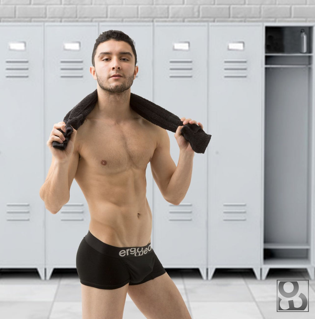 ErgoWear EW0383 FEEL Classic Boxer Briefs Color Black
