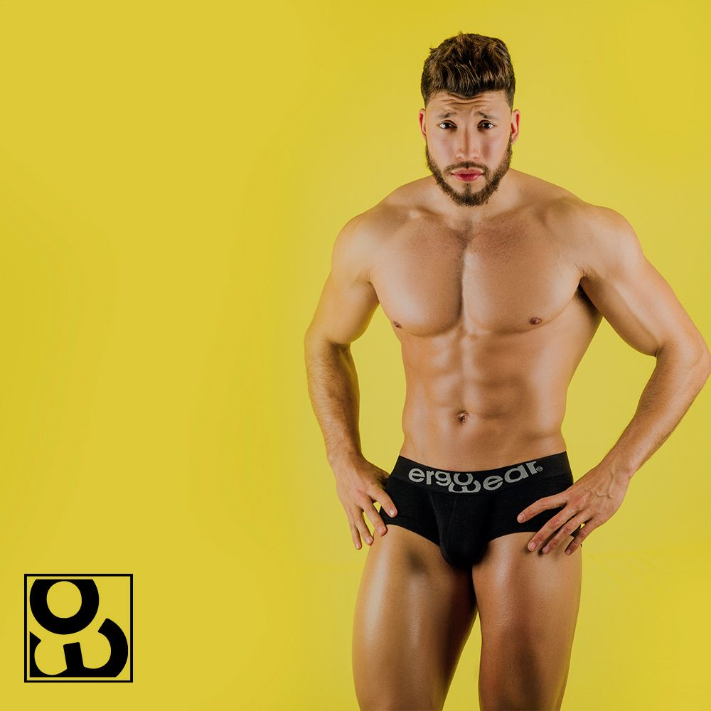 ErgoWear EW0719 MAX Modal Boxer Briefs Color Black