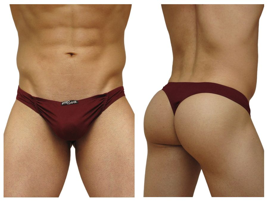 ErgoWear EW0210 FEEL Suave Thong Color Red