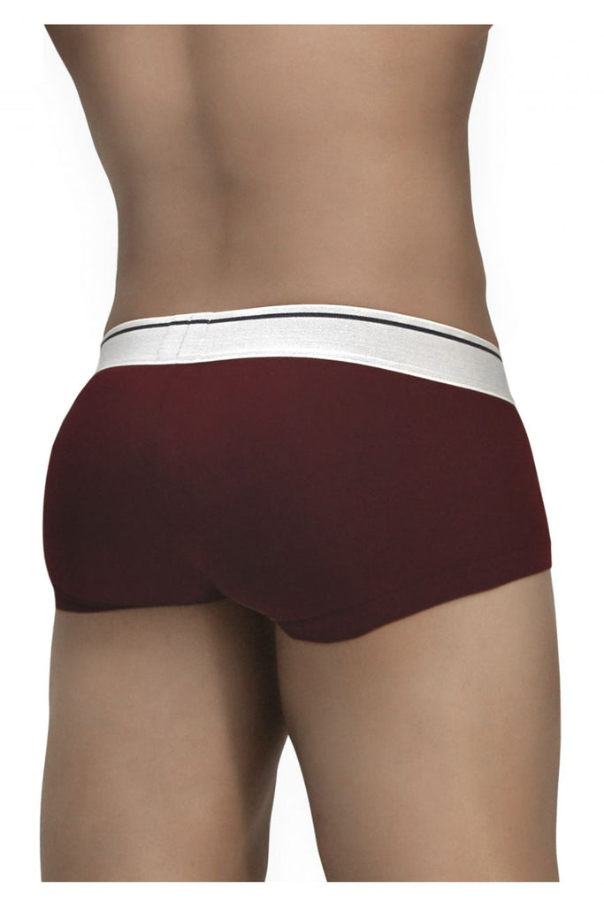 ErgoWear EW0933 FEEL Modal Boxer Briefs Color Burgundy