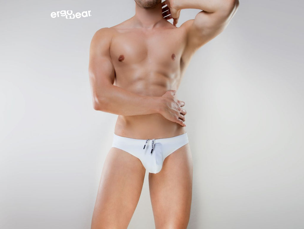 ErgoWear EW0951 X4D Swim Thong Color White