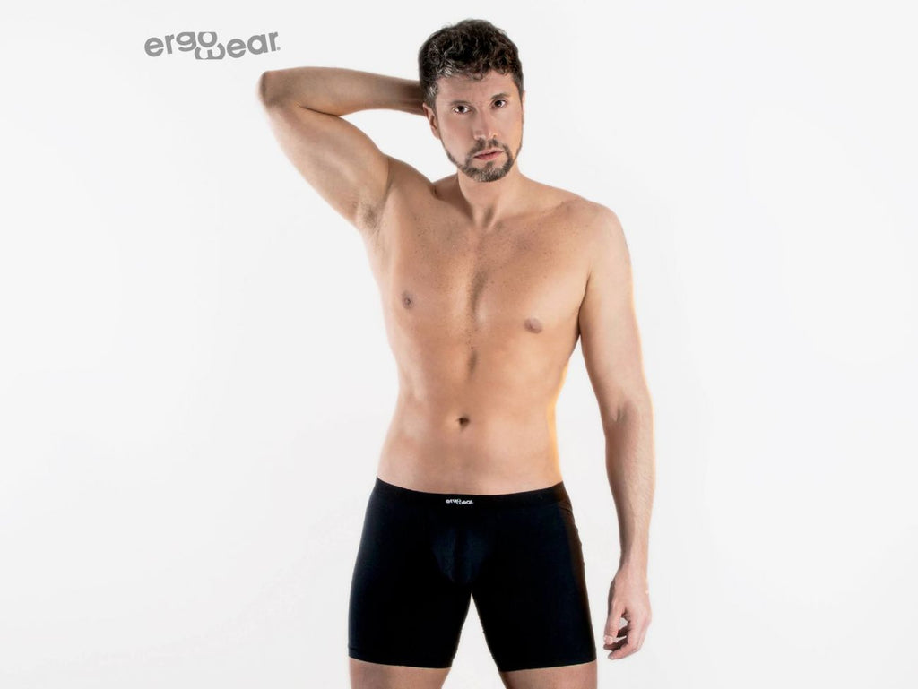 ErgoWear EW0956 SLK Boxer Briefs Color Black