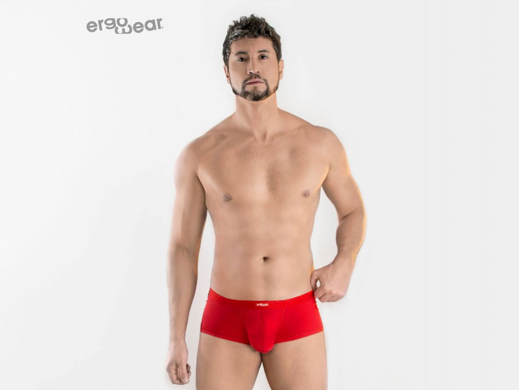 ErgoWear EW0963 SLK Trunks Color Red