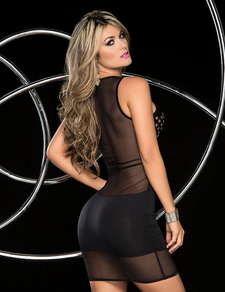 Espiral 4321 Dress Color Black