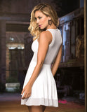 Espiral 4343 Dress Color White