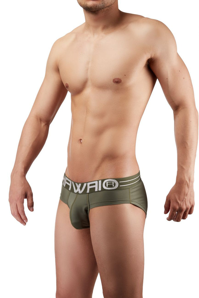 HAWAI 41945 Briefs Color Military Green