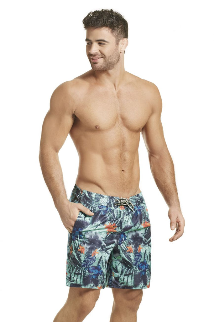 HAWAI 51802 Swim Trunks Color Blue