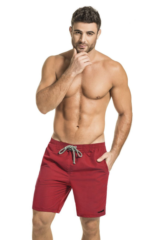 HAWAI 51806 Swim Trunks Color Red