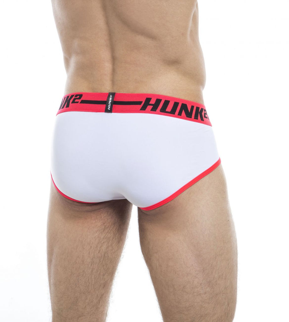 HUNK2 BR2020E Adonis Palais² Briefs Color White