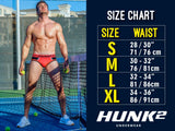 HUNK2 TR2020B Alphae Neon² Trunks Color White