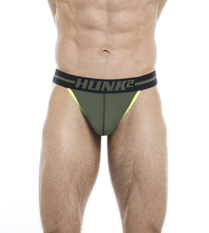 HUNK2 BR2020B Adonis Lifteur² Briefs Color Green
