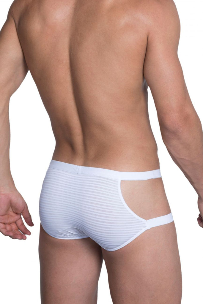 Hidden 958 Open Side Briefs Color White