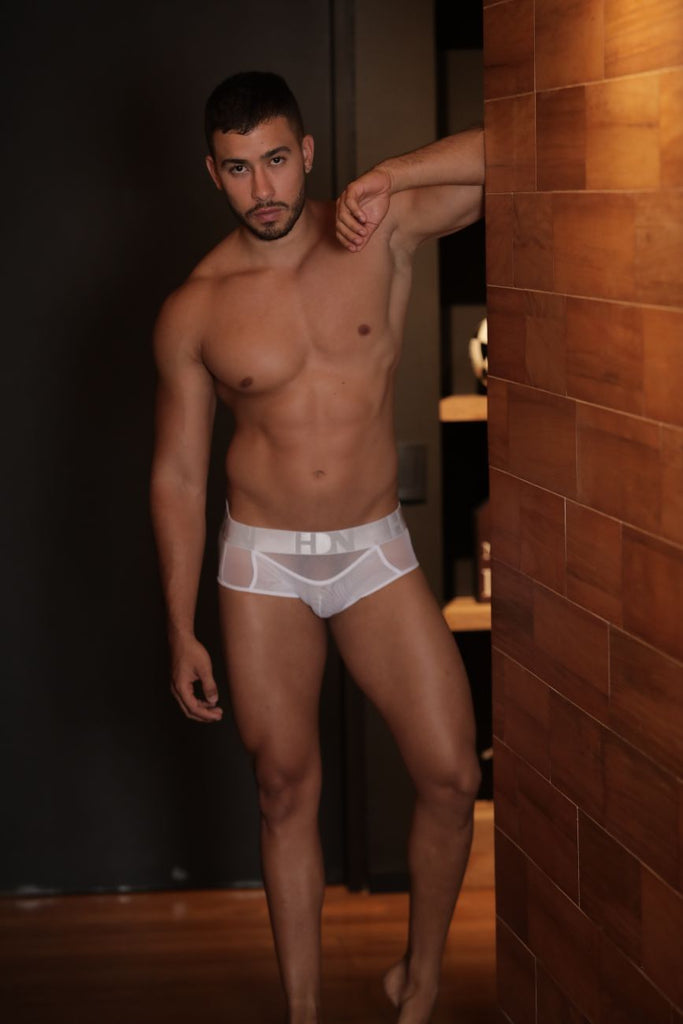Hidden 961 Mesh Mini Trunks Color White
